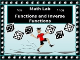 Activity Math Lab:  Functions and Inverse Functions