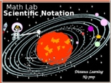 Activity Math Lab:  Scientific Notation and the Solar System