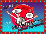 Activity Math Lab:  Simplifying Rational Expressions