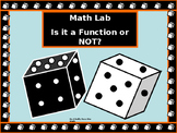 Activity Math Lab over Functions and Relations