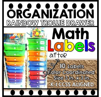 Math Labels CCSS Aligned