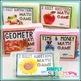 2nd Grade Math Labels | Classroom Organization Labels
