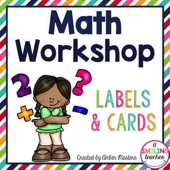 Math Stations Labels