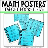 EDITABLE Math Labels- [Math Keywords and CUBES Problem Solving Strategy]