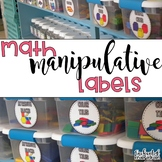 Editable Labels: Math Labels, Classroom Labels