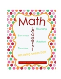 Math Ladders (Starting Numbers 10-20)!