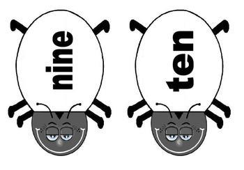 Ladybugs - Math - Subitizing - Ladybug Template - 30 pages - FREEBIE