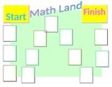 Math Land Gameboard