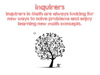 Math Learner Profile