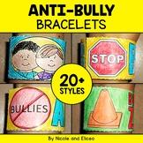 Anti Bullying Activity Bracelets