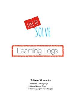 Math Learning Logs