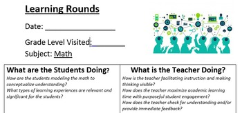 Math Learning Round Tool for Teachers