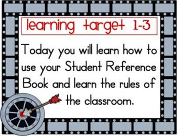 Math Learning Target Posters for CCSS - EDM Grade 3, Unit 1