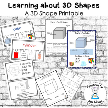 Math- Shapes - Learning about 3D Shapes