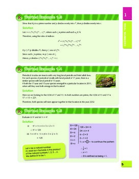 Math - Learning with Activities for Teens