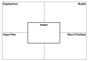 Math Lesh Model Template