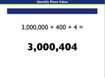 Singapore Math:  A Supplemental Lesson on Place Value