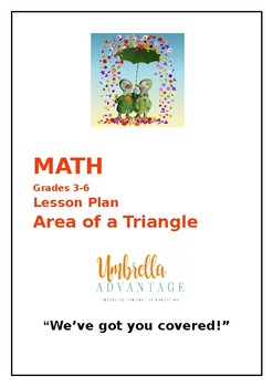 Math Lesson Plan:  Area of a Triangle