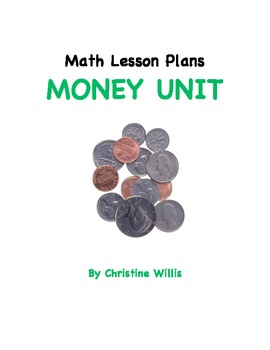 Free math lesson plans bundled resources lesson plans teachers math lesson plans unit on money free fandeluxe Images