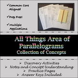 All Things Area of Parallelograms
