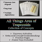 All Things Area of Trapezoids