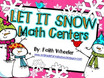 Let it Snow Winter Centers