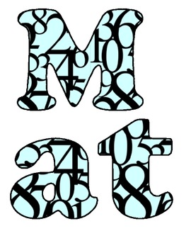 Math Letters