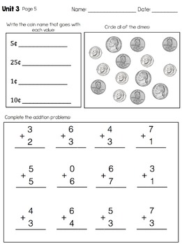 Math Leveled Daily Curriculum {LEVEL 2}