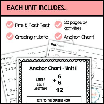 Math Leveled Daily Curriculum {LEVEL 3}
