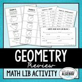 Geometry Review Math Lib