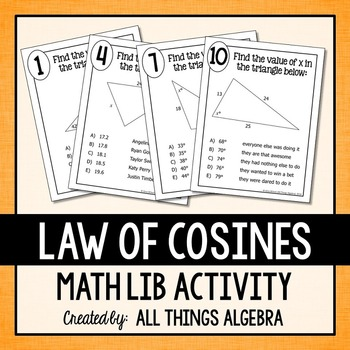 Law of Cosines Math Lib