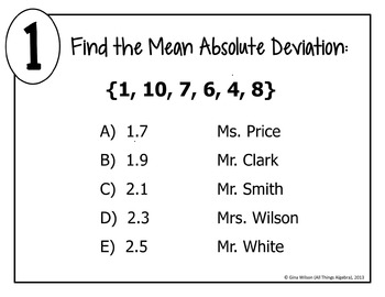 mean absolute deviation worksheet w answer key grade math mean best free printable worksheets. Black Bedroom Furniture Sets. Home Design Ideas