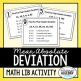 Mean Absolute Deviation Math Lib