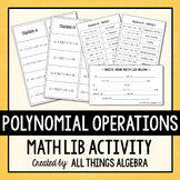 Polynomial Operations Math Lib