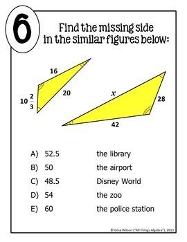 Similar Figures Math Lib