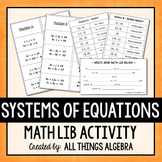 Systems of Equations Math Lib