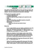 Math-Life Skills Data Sheets
