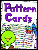 Math Links Cards and Teddy Bear Counter Cards - Pattern Cards