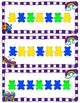 Math Links Cards and Teddy Brear Counters Cards - Pattern Cards