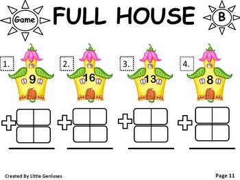 "Math & Literacy: ""In A People House"" With Engaging Math Actvities"