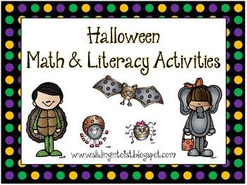 Math & Literacy Activities for Halloween