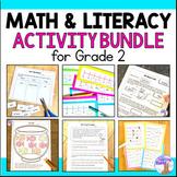 Math & Literacy Bundle for 2nd Grade