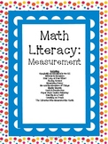 Math Literacy Cards-#3 Measurement Common Core