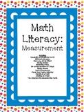 Math Literacy Cards-#3 Measurement Common Core