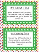 Math Literacy Cards-#7 Time