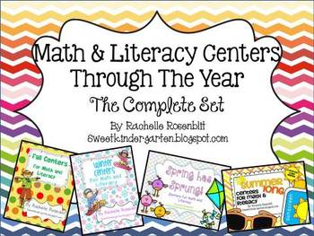 Math & Literacy Centers All Year Long