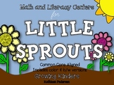 Math & Literacy Centers for Little Sprouts {Plants - Common Core Aligned!}