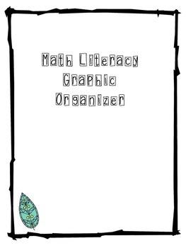 Math Literacy Graphic Organizer/ Rubric/ Checklist