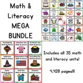 Math & Literacy MEGA BUNDLE!!!