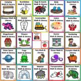 Math & Literacy Theme Bundle